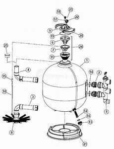 Waterway Ultraclean Pro Sand Filter Parts