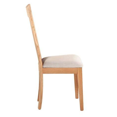4 pieds 4 chaises chaise en bois et tissu rembourré crocus 4 pieds
