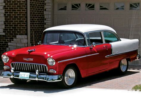 The 1955 Chevy Bel Air The World's Most Alltime Popular