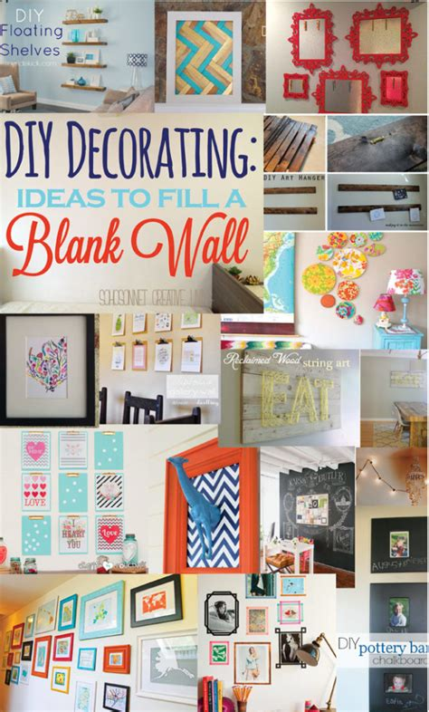 Decorating Ideas Blank Wall 20 ideas to decorate a blank wall sohosonnet creative living