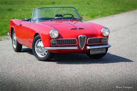 Alfa Romeo 2000 by Alfa Romeo 2000 Touring Spider 1961 Classicargarage De