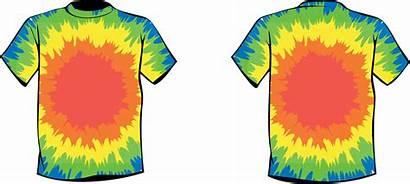 Dye Tie Clipart Clip Shirt Shirts Tye
