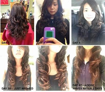 Hair Perm Brunette Balayage Digital Tx Dry