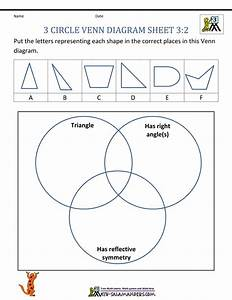 Venn Diagram Template For 2nd Grade
