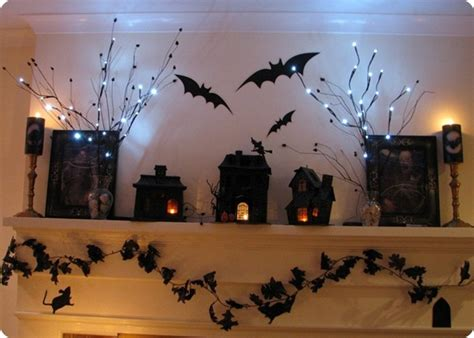 haloween decorating ideas 50 great halloween mantel decorating ideas digsdigs