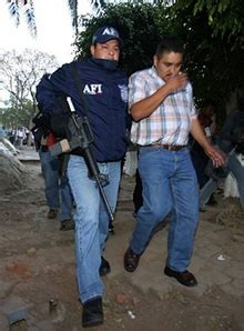 Oaxaca State Police Offices Searched