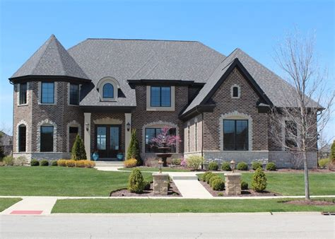 brick  stone homes mason  chicago western suburbs