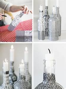 Basteln Mit Glasflaschen : 42 upcycling ideen f r diy lampen aus glasflaschen ~ Watch28wear.com Haus und Dekorationen