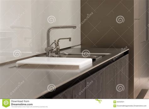 clean stainless steel kitchen sink stainless steel kitchen stock photo image 62232921