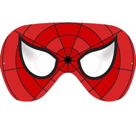 COMPLETO Mascara Homem Aranha Para Imprimir mascara