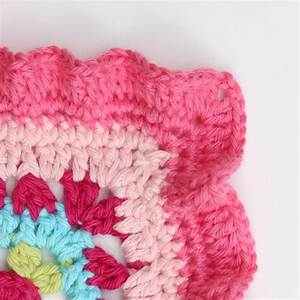 Crochet ruffle edge tutorial and patterns for Crochet ruffle edge