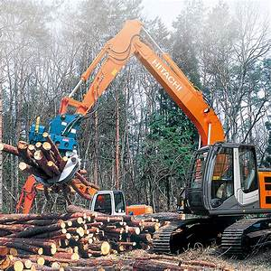 Forest Machines - Hitachi Construction Machinery