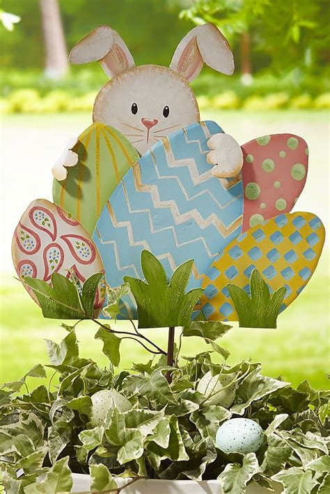 Easter Egg Garden Decoration by 123 Best Images About Easter Outdoor Decorations On