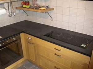 Plan De Travail Noir Brillant : plan granit marbre quartz cuisine salle de bain ~ Dailycaller-alerts.com Idées de Décoration