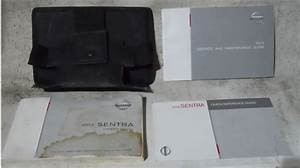 Nissan Sentra 2012 Factory Original Oem Owner Manual User