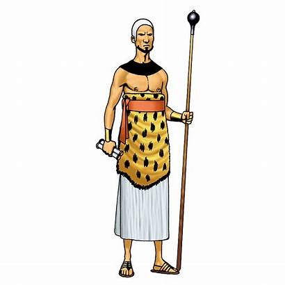 Priest Ancient Egyptian Egypt Clipart Clip Cliparts