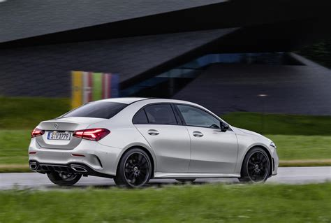 Mercedes 2019 A Class by 2019 Mercedes A Class Sedan Revealed Performancedrive