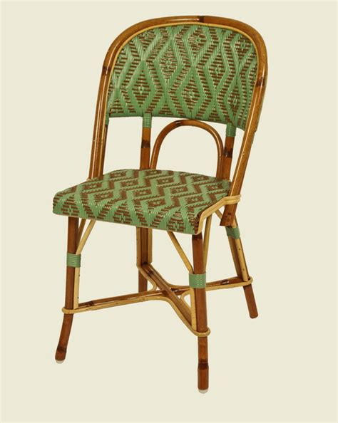 chaise drucker matignon chair jade green brown maison drucker