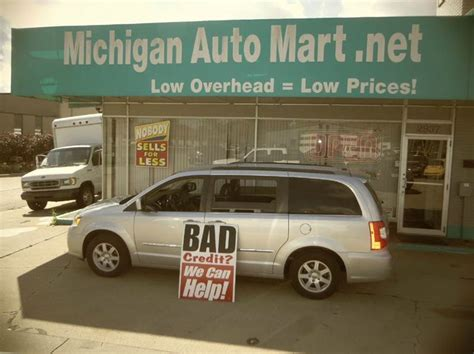 Huron Used Cars by Michigan Auto Mart Used Cars Huron Mi Dealer