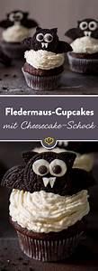 Cupcakes Mit Füllung : halloween fledermaus cupcakes mit cheesecake schock rezept s e sachen die gl cklich ~ Eleganceandgraceweddings.com Haus und Dekorationen