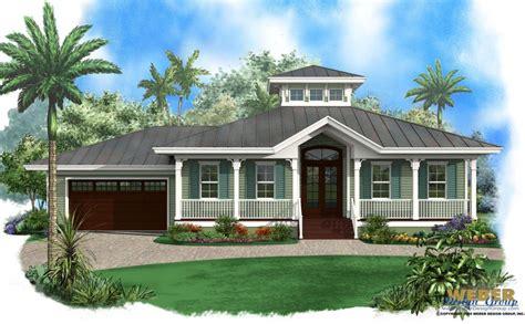 beach house plan  story  florida style coastal home