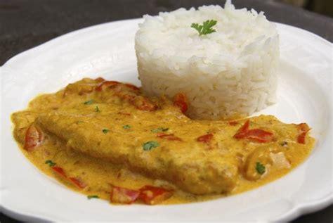 recette filets de cabillaud au curry