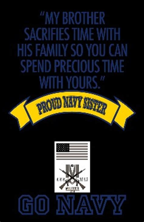 proud navy sister quotes quotesgram