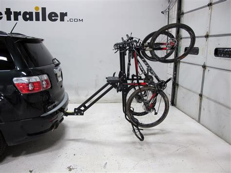 softride bike rack softride hang5 5 bike rack for 2 quot hitches tilting