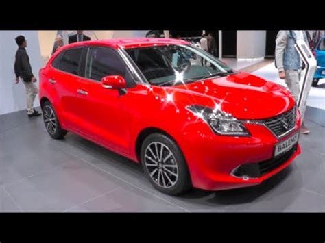 Baleno 4k Wallpapers by Suzuki Baleno 2016 In Detail Review Walkaround Interior