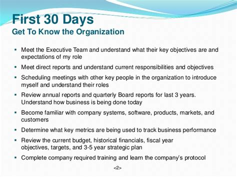 30 60 90 Day Business Plan For Medical Sales