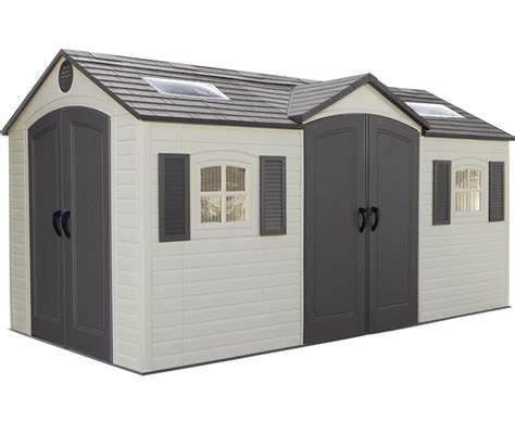 sheds for less info 10x10 plastic storage shed