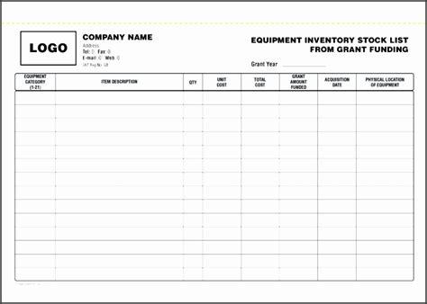 inventory checklist template sampletemplatess