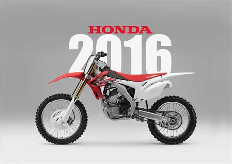 honda motocross bike honda 2016 dirt bike magazine