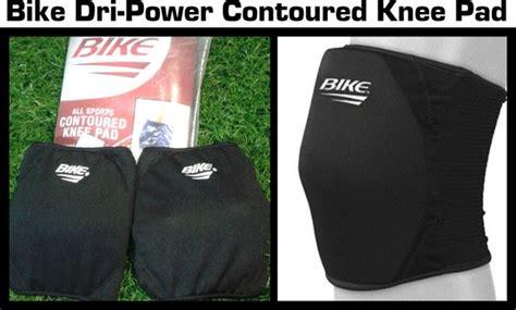 Bike Dri-power Contoured Knee Pad