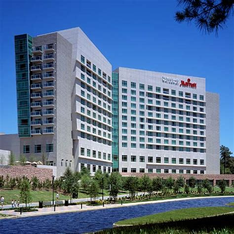 Marriott Gasl Convention Center by The Woodlands Waterway Marriott Hotel Convention Center