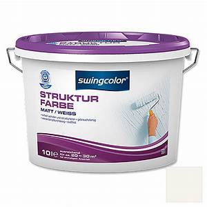 Struktur Farbe Obi : swingcolor strukturfarbe wei 10 l matt bauhaus ~ Michelbontemps.com Haus und Dekorationen