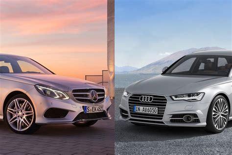 Custom and modified cars, bikes and trucks. Paris facelift-battle: the Audi A6 responds to Mercedes-Benz E-Class - MercedesBlog