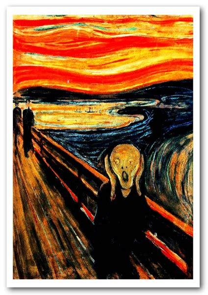 edvard munch  scream art classic framed art giclee art