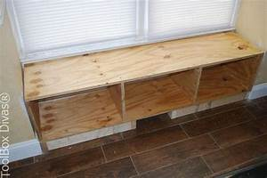 DIY Window Bench Seat With Drawer Storage Hometalk