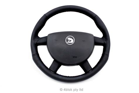 holden hsv vz black retrimmed steering wheel