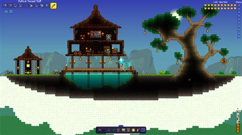 Witch doctor floating island house   Terraria Community Forums