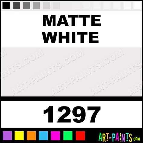 matte white matte white exterior acrylic paints 1297 matte white