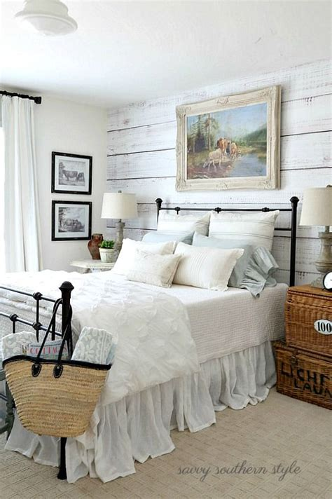Country Bedroom Decor by The Softer Shades Of Summer Guest Bedroom Farmhouse
