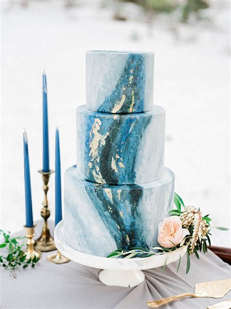 On Trend Works Of Art 11 Marble Wedding Cakes