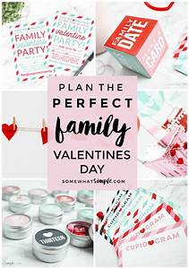 Family Valentines Day Ideas + Printables - Somewhat Simple