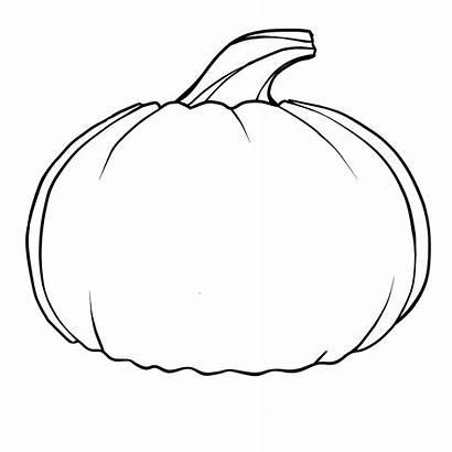 Pumpkin Clipart Outline Clipartpanda Drawing Printable Coloring