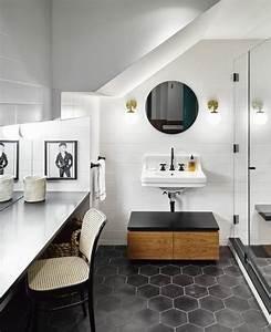 Salle De Bain Originale : le carrelage hexagonal une tendance qui fait son grand ~ Preciouscoupons.com Idées de Décoration