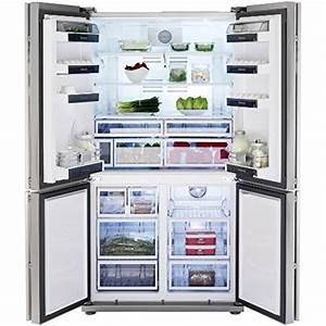 Kühlschrank Side By Side Eiswürfel : amerikanischer k hlschrank retro ~ Frokenaadalensverden.com Haus und Dekorationen