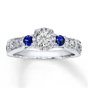 white sapphire engagement ring 1 carat and sapphire halo engagement ring in white gold jeenjewels