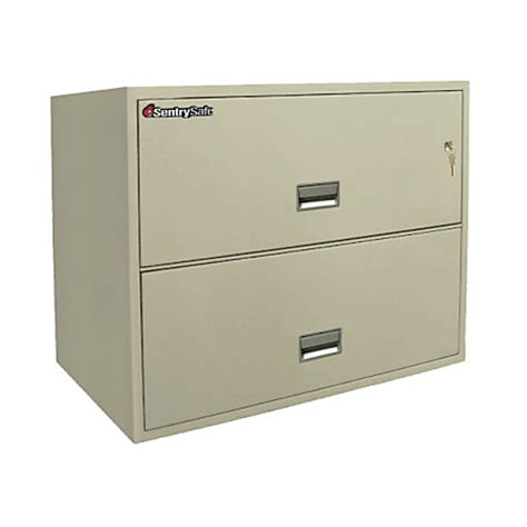 letter lateral file cabinet sentry safe fire resistant letter legal size lateral file